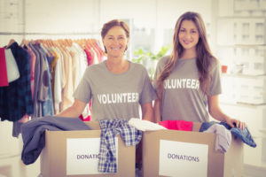 Women Volunteering